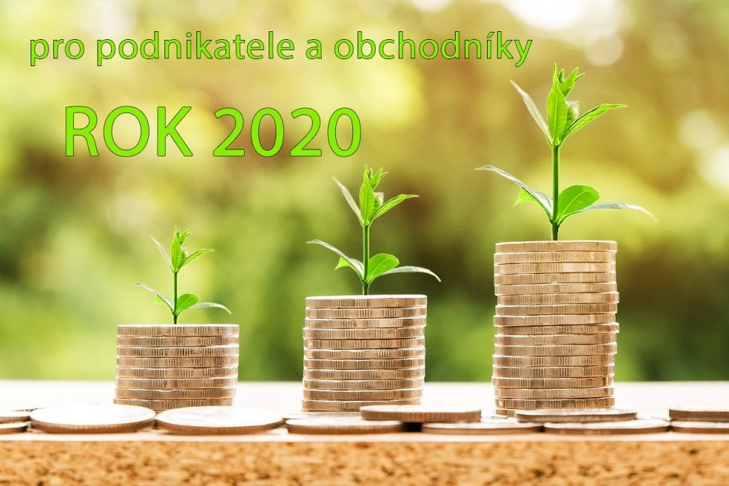 Rok 2020 pro obchodníky web